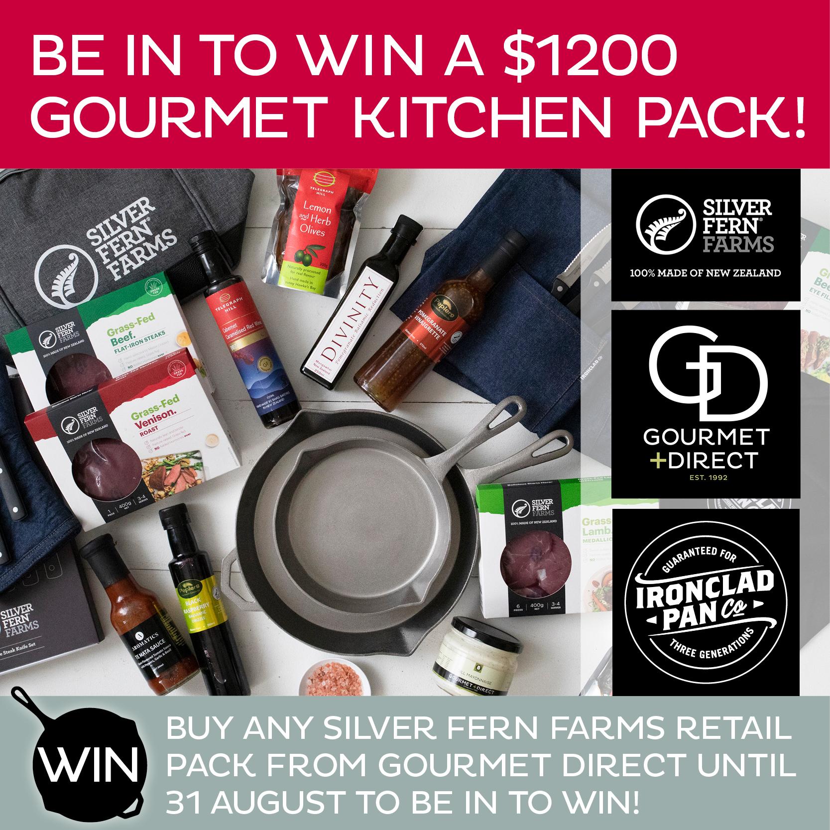 Win a $1200 Gourmet...1667x1667